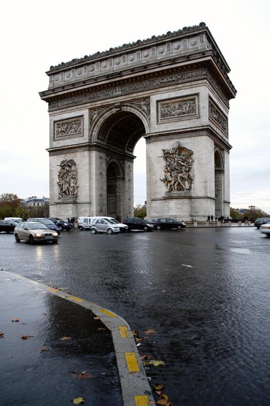 Converging Verticals Arc De Triomphe