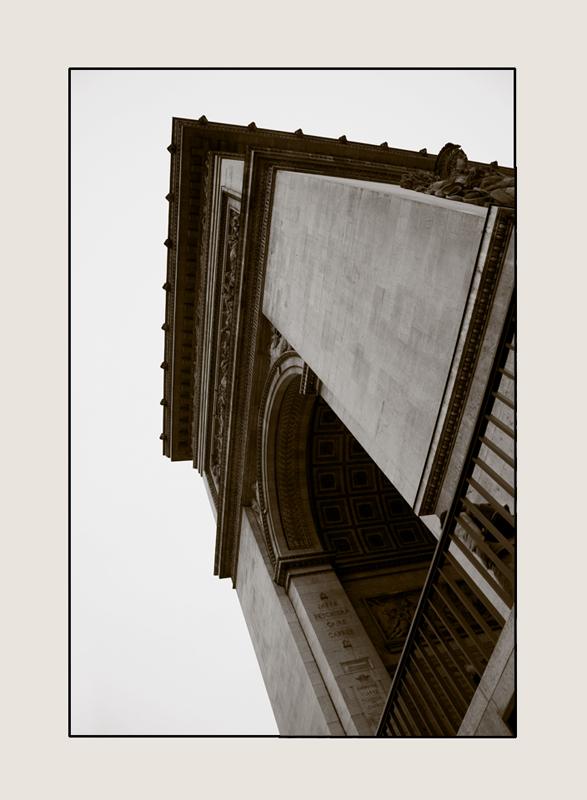 Converging Verticals Eiffel Tower