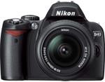 Nikon D40 kit in black