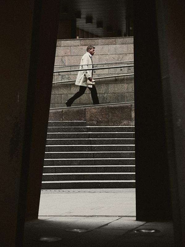 Photographing graphic shapes Damien Demolder in London. Panasonic Lumix DMC-GH3
