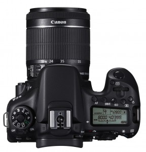 EOS 70D TOP w EF-S 18-55mm IS STM
